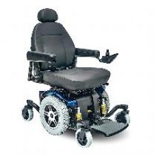 Jazzy 614 HD Heavy Duty/High Weight Capacity Power Wheelchair by Pride