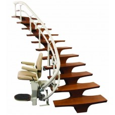 CSL500 Helix Curved Stair Lift